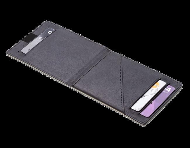 DUN wallet - minimalist leather wallet