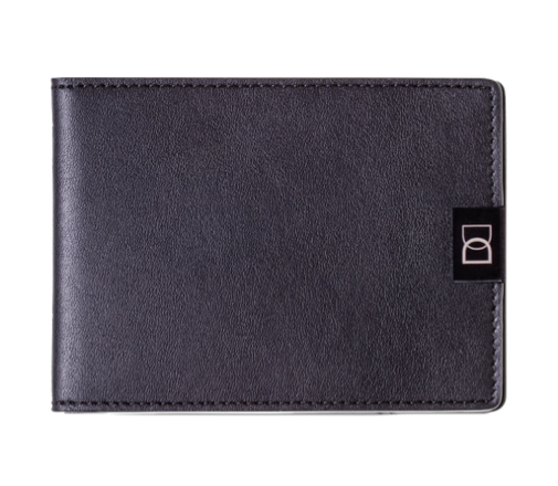 DUN Black Edition - minimalist leather wallet