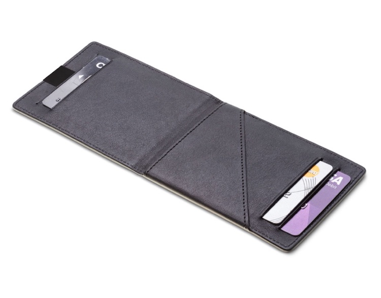 DUN wallet - thinnest leather wallet