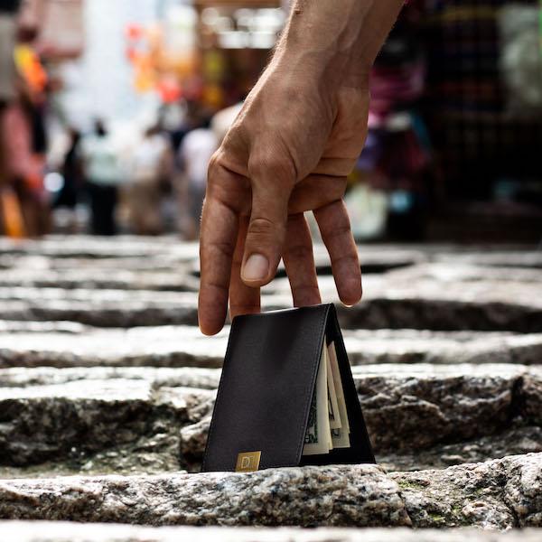 DUN wallet slimmest wallet