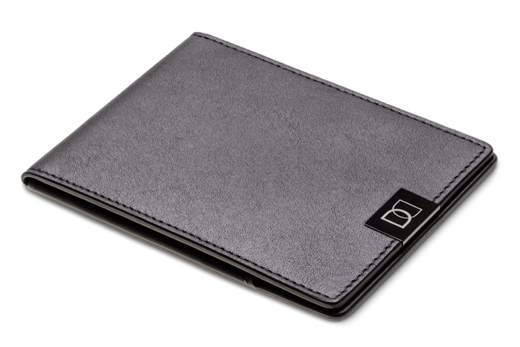 DUN Wallet Black Edition - thin leather wallet