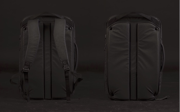 DUN minimalist Travel Backpack - straps